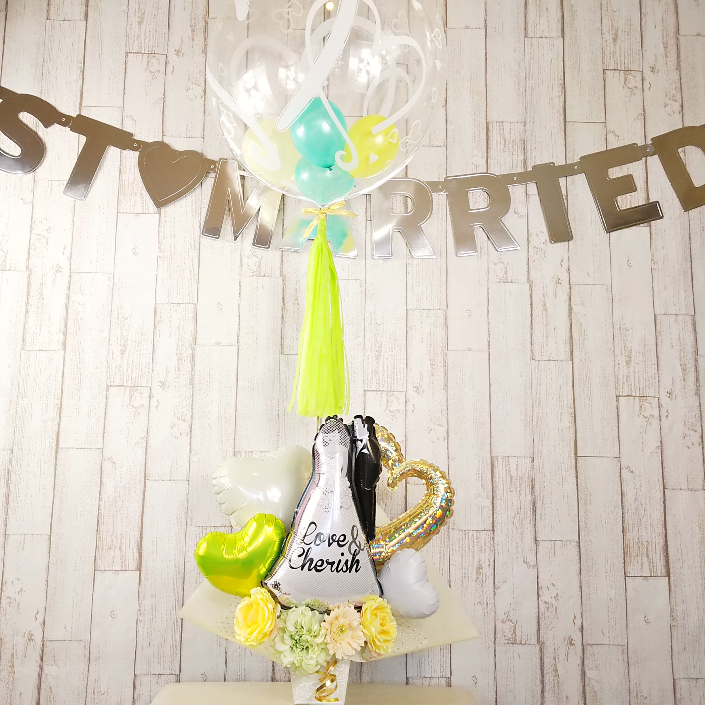 wedding gold&lime DX